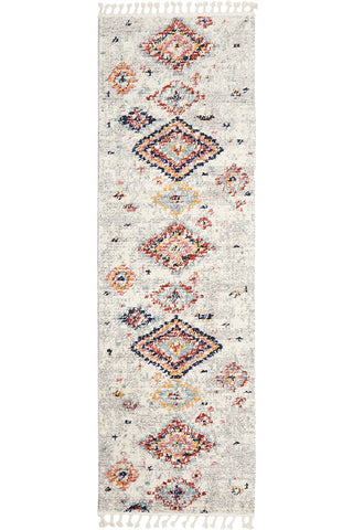 Marrakesh 222 Silver Runner Rug