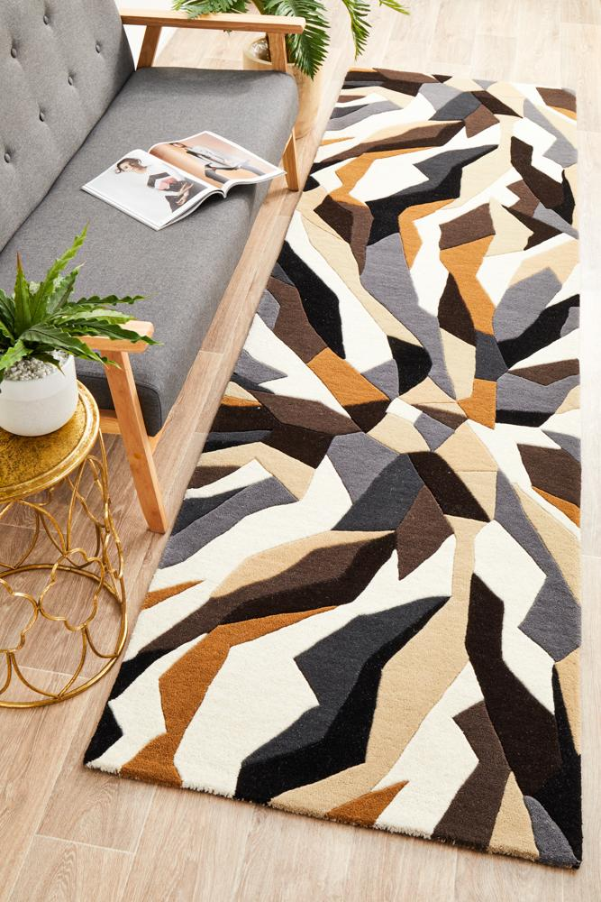 Matrix 903 Fossil Runner Rug