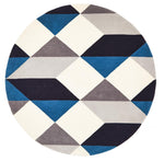 Matrix 904 Steel Round Rug