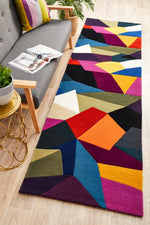 Matrix 906 Crayon Runner Rug