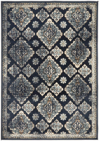 Oxford 434 Navy Rug