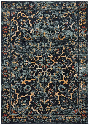 Oxford 436 Navy Rug