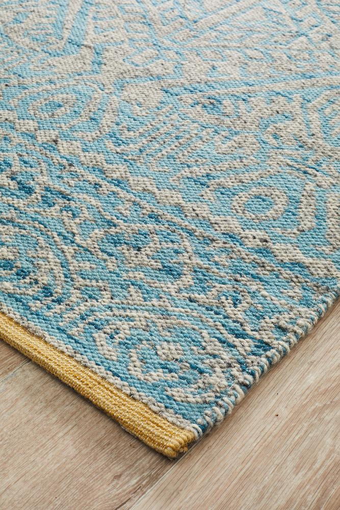 Relic 170 Blue Grey Rug