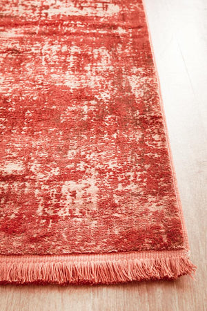 Reflections 101 Coral Runner Rug
