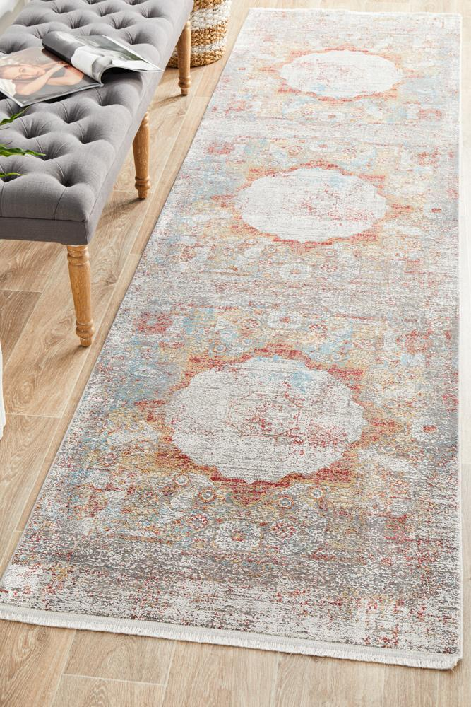Reflections 103 Terracotta Runner Rug