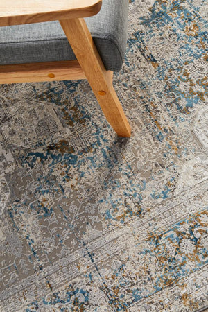 Reflections 104 Blue Rug