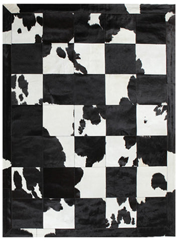 Spanish Patchwork Black & White