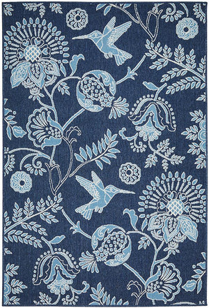 Seaside 7777 Navy Rug