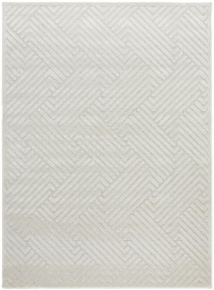 York Cindy Natural White Rug