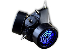 Spiked Cyber Goth Gas Mask