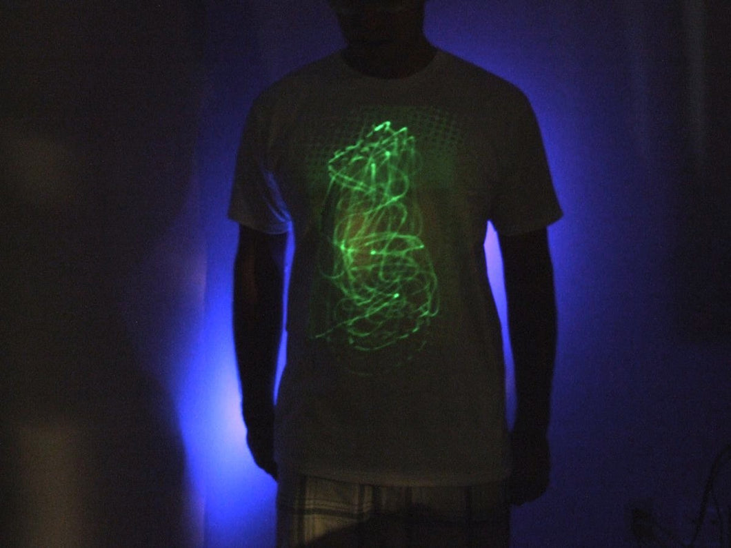 Glow in the dark UV Reactive Shirt