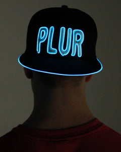 Light Up El Wire Hat - Plur