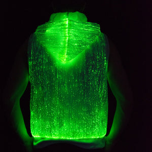 Sound Activated Sleeveless Hoodie - Bluetooth