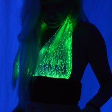 Fiber Optic Halter Top