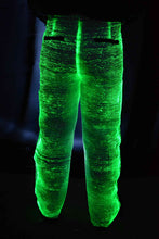 Fiber Optic Light Up Mens Suit - pants in green