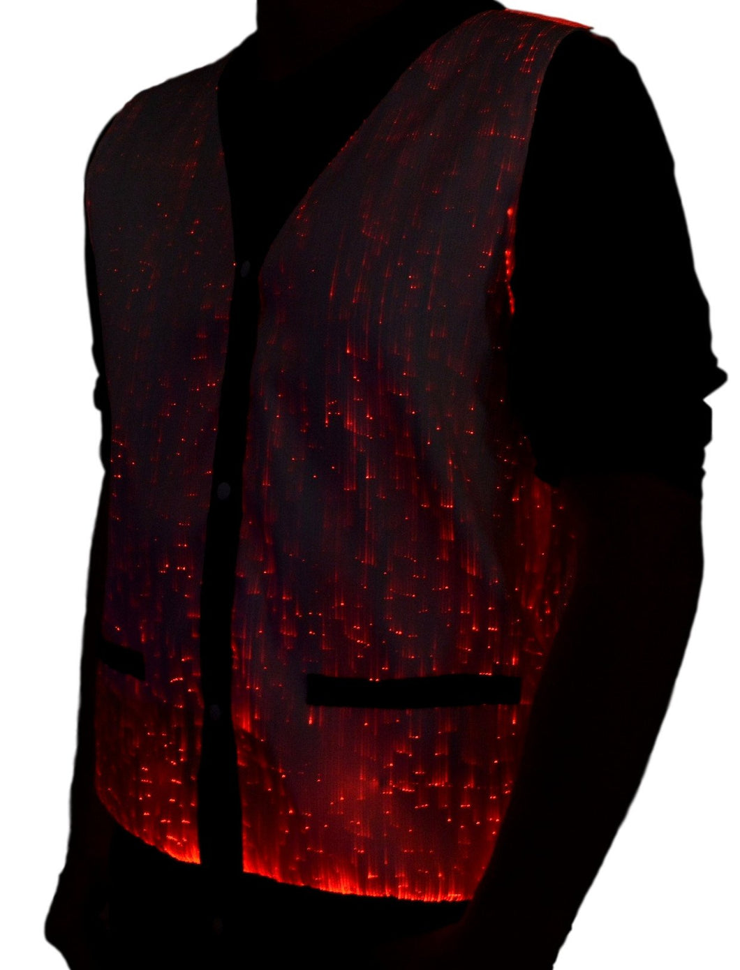 Fiber Optic Vest with Pockets