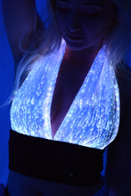Light Up Fiber Optic Halter Top