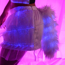 LED Mini Skirt and Light Up Tail Combo Set