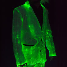 Light Up Jacket - Green Lights