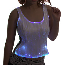 Fiber Optic Women's Rave Tank Top