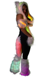 Light Up Furry Spirit Animal Costume