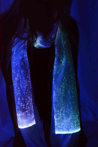 Fiber Optic Scarf