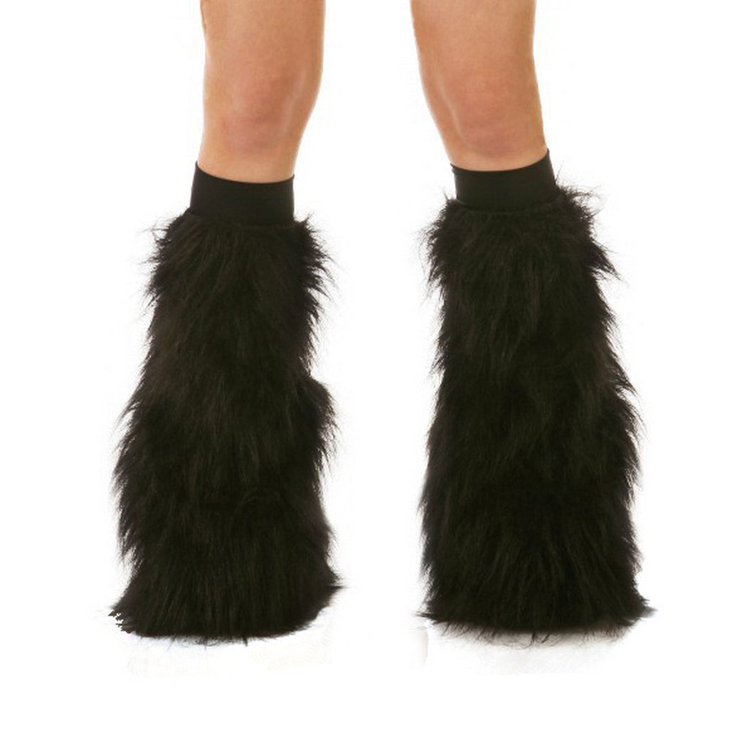 Solid Color Fluffies in Black