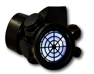 LED Gas Mask Cosplay Respirator