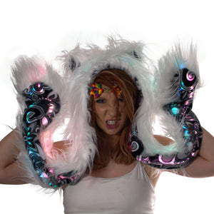 Light Up Animal Hood - Paws