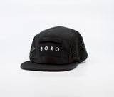 Spell Out Mesh - 4 Panel Cap (black)