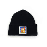 Butter B - Short ribbed beanie