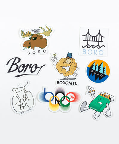 Boro summer 2017 sticker pack