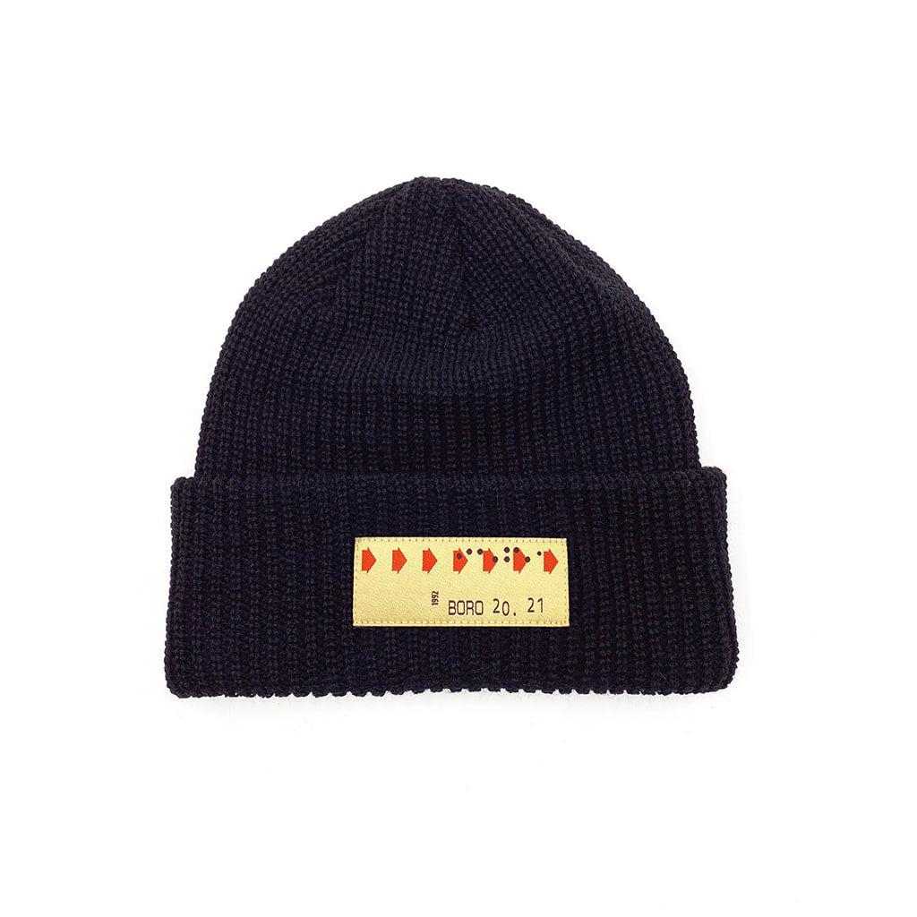 Transfer - Short ribbed beanie
