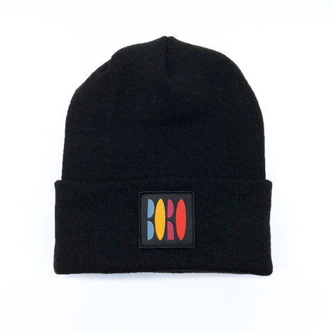 Boro VHS Long Beanie (black)