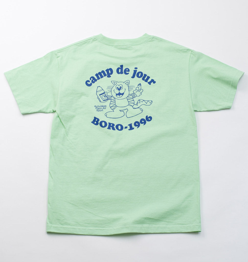 Boro Camp de Jour T-Shirt (Mint)