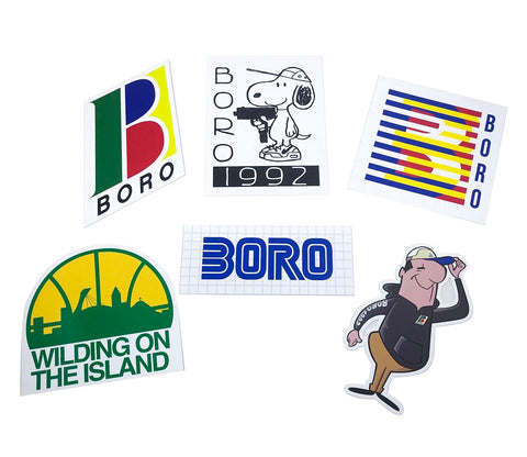 Boro Sticker Pack #3