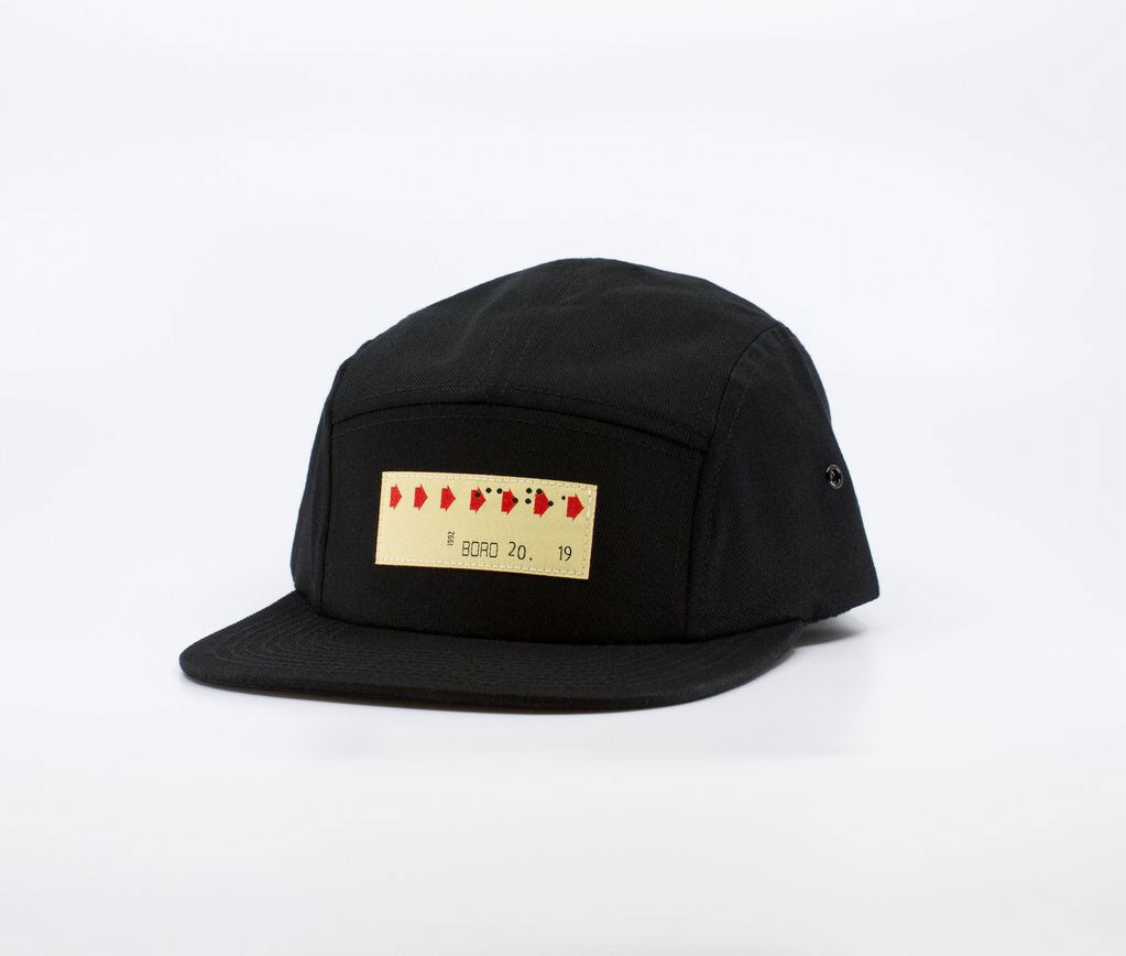 Transfer - Five Panel (black)