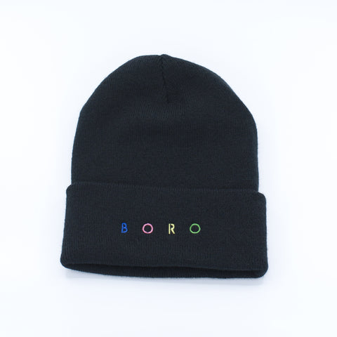 Boro Spirit Long Beanie (black)