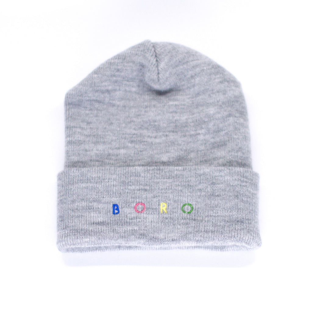 Boro Spirit Long Beanie (grey)