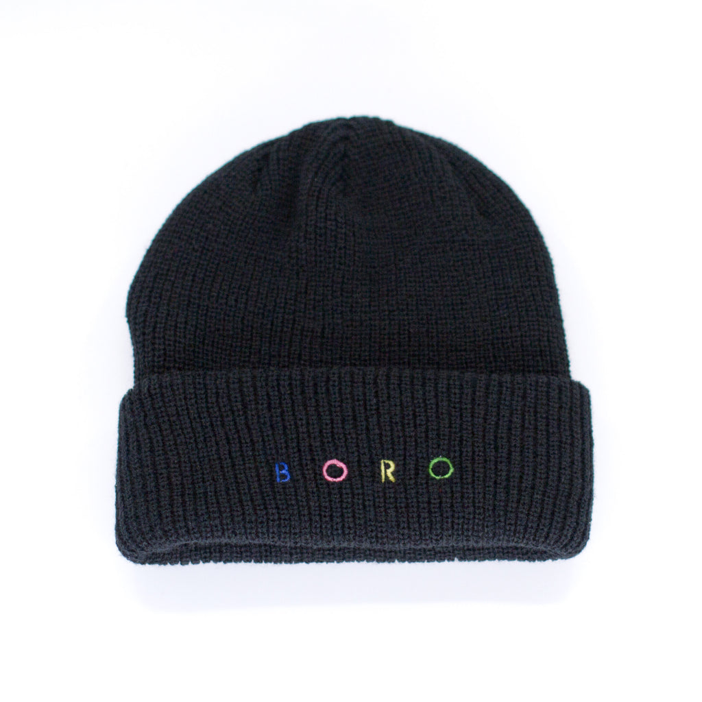 Boro Spirit short Beanie (black)