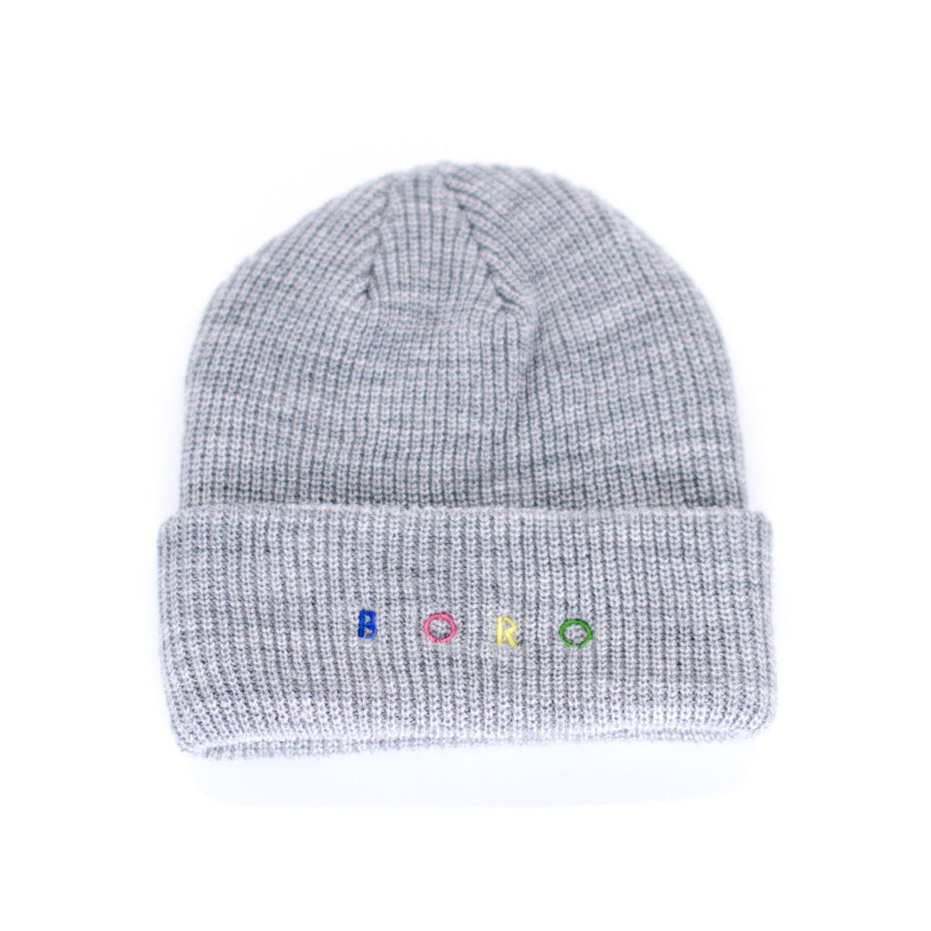 Boro Spirit short Beanie (grey)