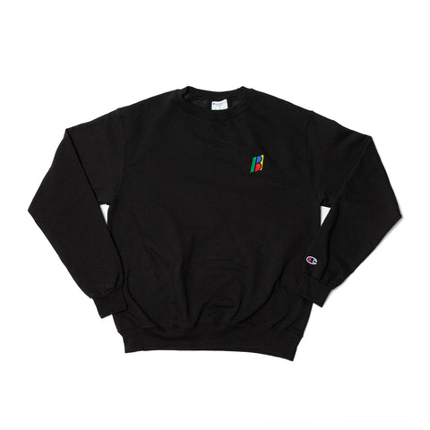 Boro x Champion Bolo Embroidered Sweater (Black)