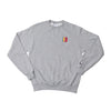 Boro x Champion VHS Embroidered Sweater (Heather Grey)