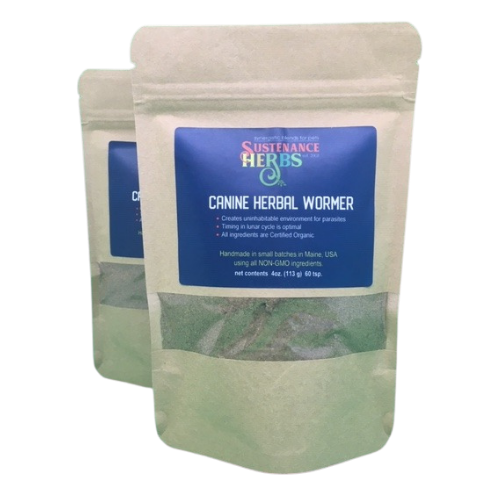 Canine Herbal Wormer