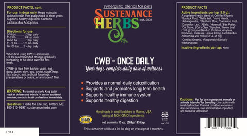 CWB™-Once Daily
