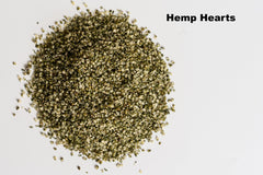 pile of hemp hearts