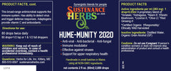 sustenance herbs for pets hume-munity 2020 all natural immune support