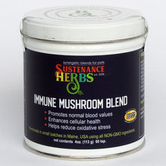 sustenance herbs for pets immune mushroom blend, herbal health and immune support for pets
