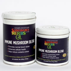 sustenance herbs for pets immune mushroom blend, sustenance herbs for pets immune mushroom blend