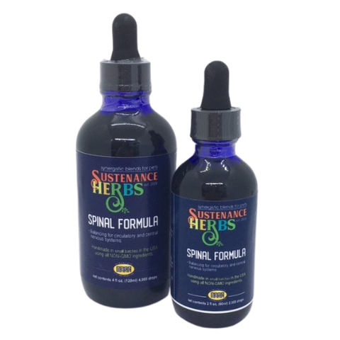 2oz and 4oz formula sizes of spinal formula